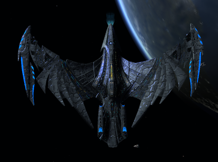 This is the best looking Romulan ship yet.