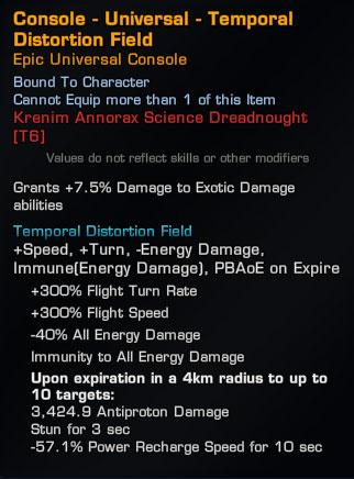 temporal-distorion-field