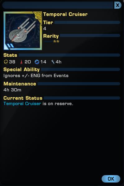 temporal cruiser